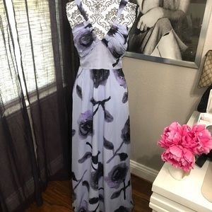 Kensie gorgeous silk maxi dress